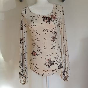 NWT Free People To The Tropics Top